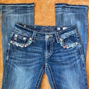 Ladies unique Miss Me Jeans